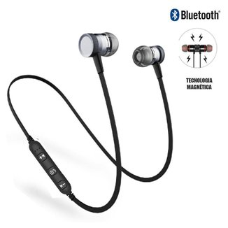 Fone De Ouvido Bluetooth Magnetic Type Bt Headphone -