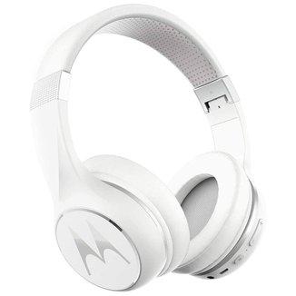 Fone de Ouvido Bluetooth Motorola Pulse Escape 220 - Dobrável - até 24 horas de bateria - Branco