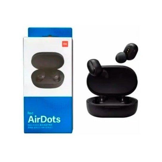 Fone De Ouvido Bluetooth Sem Fio Airdots Preto - Preto