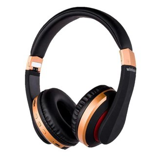 Fone de Ouvido H-600 Gold/Silver Sem Fio Bluetooth
