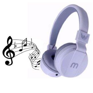 Fone De Ouvido Headphone Altomex A-872 Stereo Microfone BRANCO