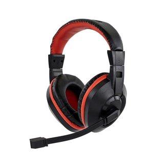 Fone de Ouvido Headset Gamer Sate Preto/Vermelho AE-263
