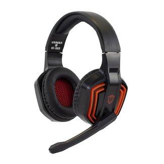 Fone de Ouvido Headset Gamer Sate Preto/Vermelho AE-361R