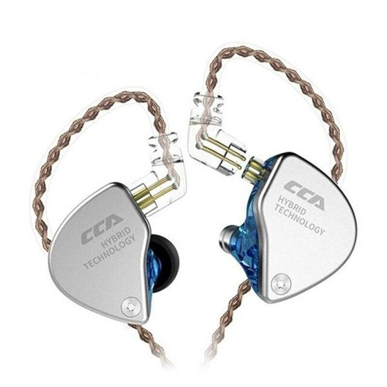 Fone De Ouvido Híbrido De Alta Fidelidade Ca4 1BA + 1DD - Azul