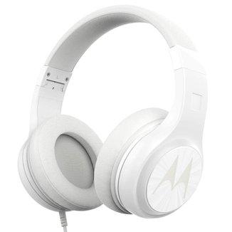 Fone de Ouvido Motorola Pulse 120 com Microfone Branco