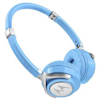 Fone de Ouvido Motorola Pulse 2 com Microfone Azul