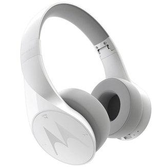 Fone de Ouvido Motorola Pulse Escape Sh012 Bluetooth com Microfone e Controles Touch Branco