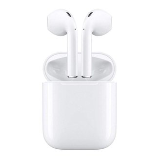 Fone de Ouvido Sem Fio i12 TWS Bluetooth Touch Estéreo