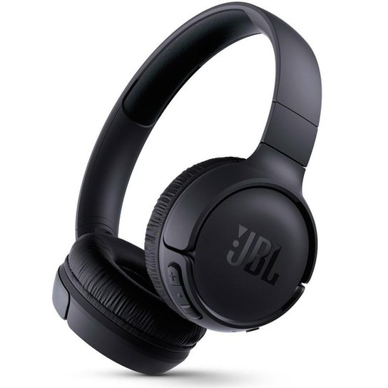 Fone de Ouvido sem Fio JBL Tune 510BT Bluetooth Preto - Preto
