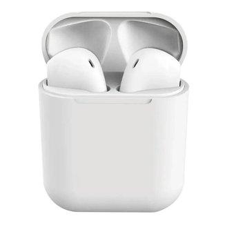 Fone de Ouvido TWS i20 5.0 Touch Par com Microfone Case USB para Carregamento