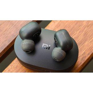 Fone De Ouvido Xiaomi Air Dots Earbuds Sem Fio Preto