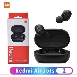 Fone de Ouvido Xiaomi Redmi Airdots 2 Função Gamer
