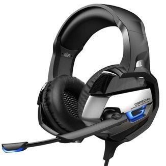 Fone Headset Gamer para PC Celular e Videogame K5
