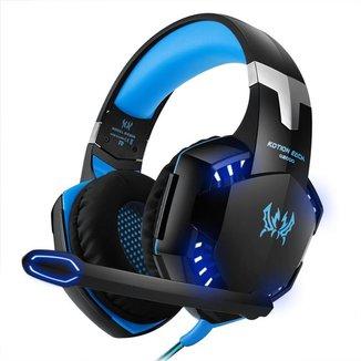 Fone Headset Kotion Each Gamer com Microfone para Celular PC e Videogame G2000