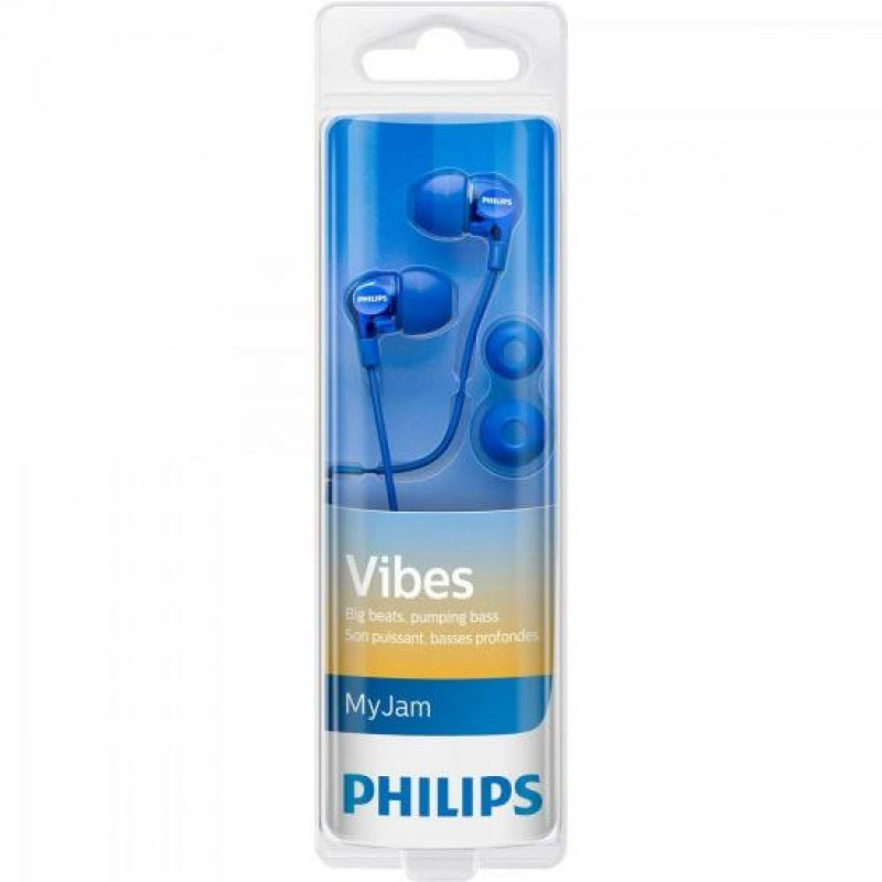 e2bae7d0313 Fone Philips De Ouvido Intra-Auricular She3700Pk 00 - Azul - Compre ...