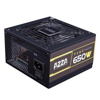 Fonte Gamer AZZA 650W 80 PLUS Bronze PFC ATIVO PSAZ-650W