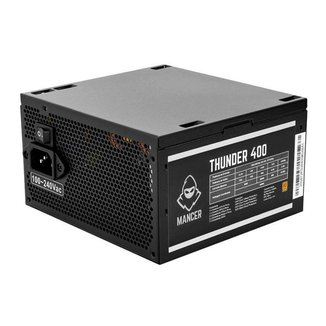 Fonte Mancer Thunder 400W Bronze 80 Plus, MCR-THR400-BL01