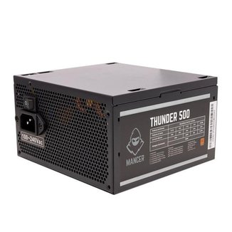 Fonte Mancer Thunder 500W Bronze 80 Plus, MCR-THR500-BL01