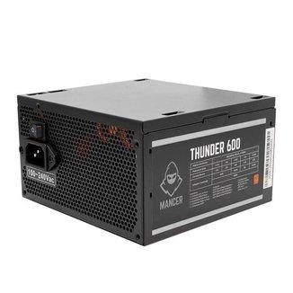 Fonte Mancer Thunder 600W 80 Plus Bronze, MCR-THR600-BL01