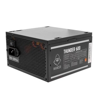 Fonte Mancer Thunder 600W 80 Plus Bronze, MCR-THR600-BL01