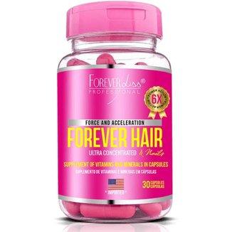 Forever Hair Crescimento Capilar Tratamento 30 Dias - 30 Cápsulas