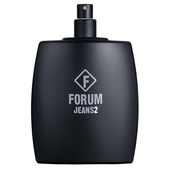 Forum Perfume Unissex Forum Jeans2 EDC 100ml - Incolor