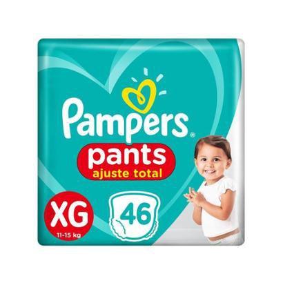 Fralda Pampers Ajuste Total Pants Calça