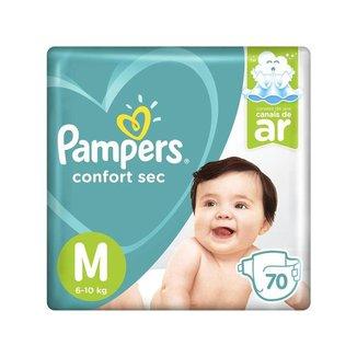 Fralda Pampers Confort Sec Tam. M