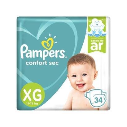 Fralda Pampers Confort Sec Tam. XG