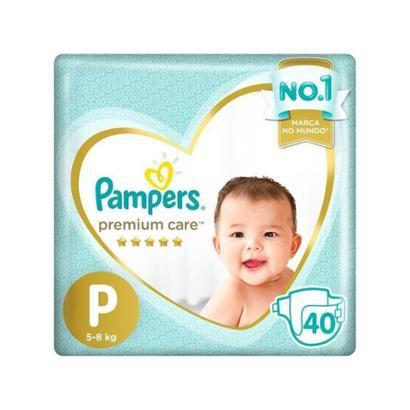 Fralda Pampers Premium Care P