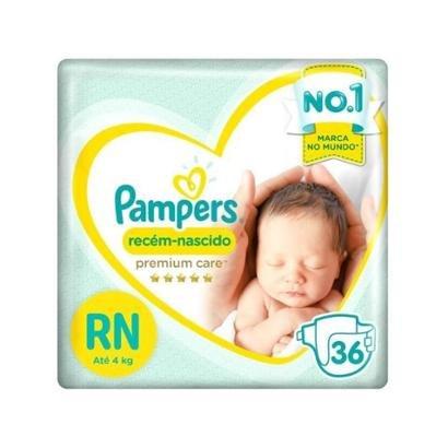 Fralda Pampers Premium Care RN