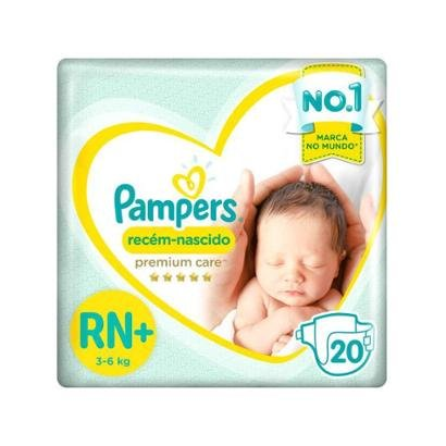 Fralda Pampers Premium Care RN+