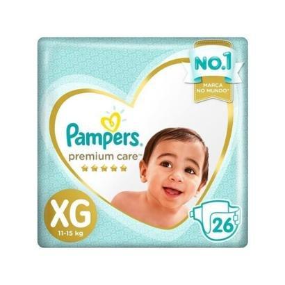 Fralda Pampers Premium Care XG