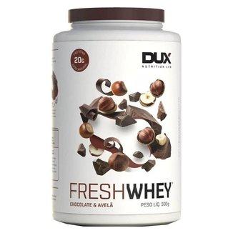 Fresh Whey - 900g - Chocolate Belga e Avelã - Dux Nutrition