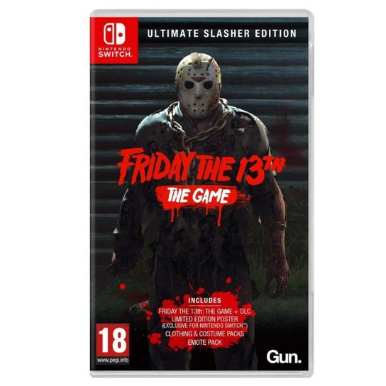 Friday the 13th: The Game - Ultimate Slasher Edition - Switch - Incolor