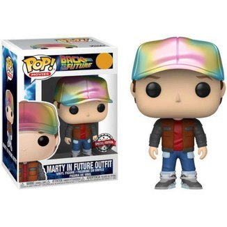Funko Pop! Movies Back to the Future Marty N48709