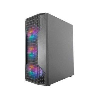 Gabinete Gamer K-Mex Boreas III RGB Mid Tower