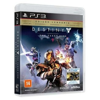 Game Ps3 - Destiny - The Taken King - Edicao Lendaria:Destiny Espansao