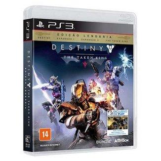 Game Ps3 - Destiny - The Taken King - Edicao Lendaria:Destiny Espansao