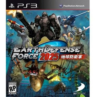 Game Ps3 Earth Defense Force 2025 Br