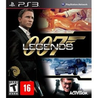 Game Ps3 James Bond 7 Legends