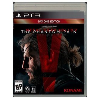 Game Ps3 Metal Gear Solid V: The Phantom Pain Day One Edition-