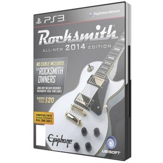 Game Ps3 Rocksmith 2014   All   New Edition - Incolor