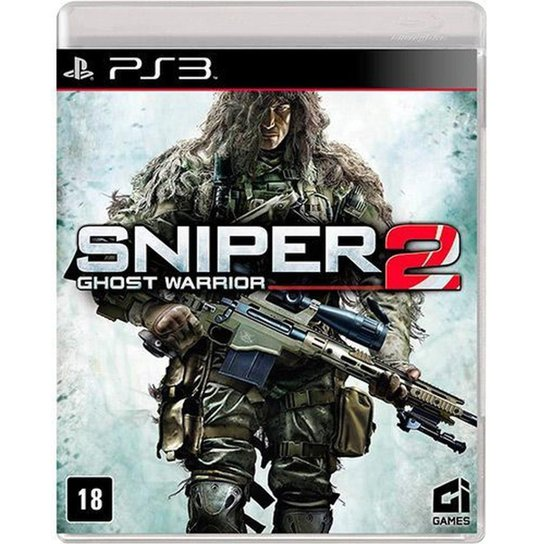 Game Ps3 Sniper: Ghost Warrior 2 - Incolor