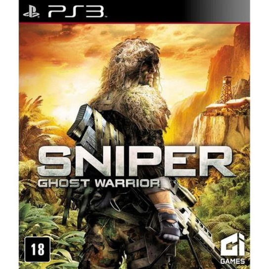 Game Ps3 Sniper: Ghost Warrior - Incolor