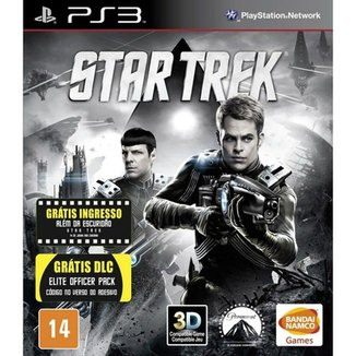 Game Ps3 Star Trek + Dlc Elite Officer Pack
