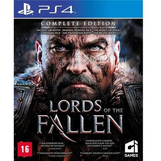 Game Ps4 Lords Of The Fallen: Complete Edition - Incolor