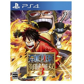 Game Ps4 One Piece: Pirate Warriors 3