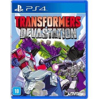 Game Ps4 Transformers Devastation