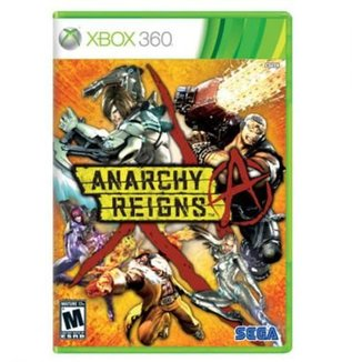 Game Xbox 360 Anarchy Reigns